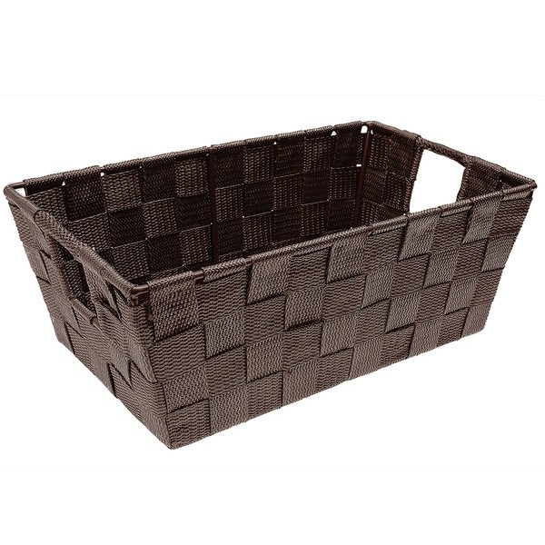 WOVEN SHELF STORAGE TOTE