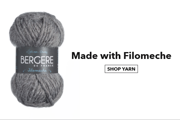 Made with Filomeche. SHOP YARN.