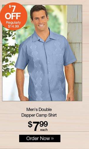 Shop Men's Double Dapper Camp Shirt