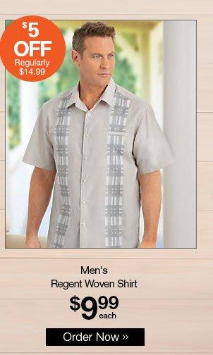 Shop Men's Regent Woven Shirt