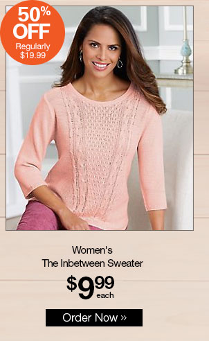 Shop Women's The Inbetween Sweater