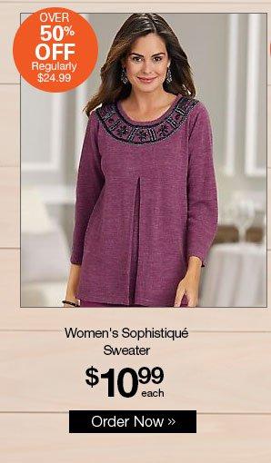 Shop Women's Sophistiqué Sweater