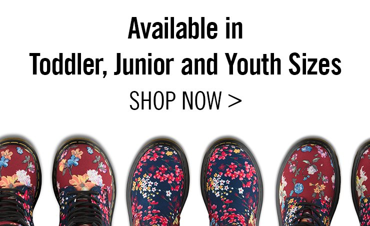 AVAILABLE IN TODDLER, JUNIOR AND YOUTH SIZES - Shop Now