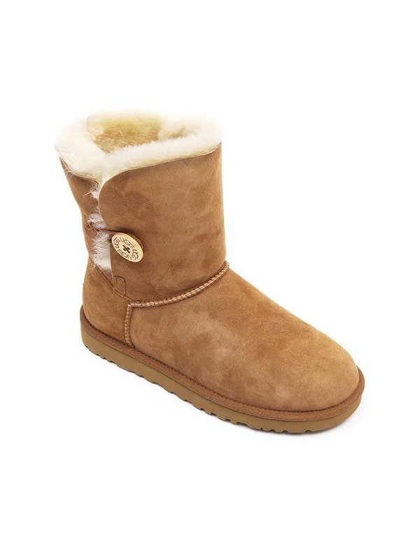 UGG Australia Womens Bailey Button - Chestnut