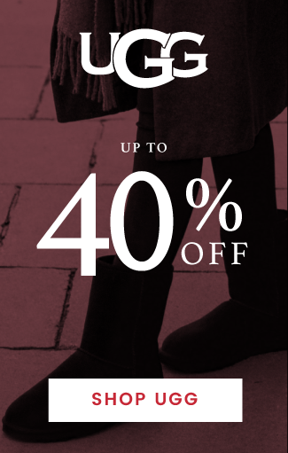 up to 40% off UGG