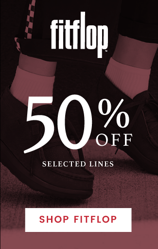 up to 50% off FitFlop