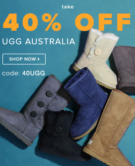 Take 40% Off Ugg Australia Use Code: 40UGG