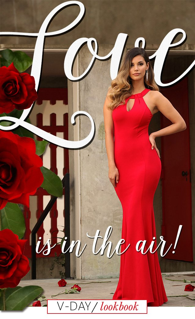Love Is In The Air. Check Out Our New Lookbook!