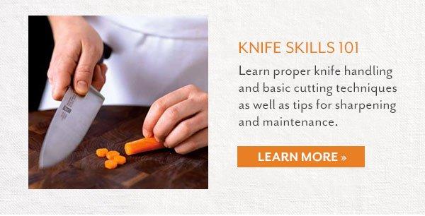 Knife Skills 101