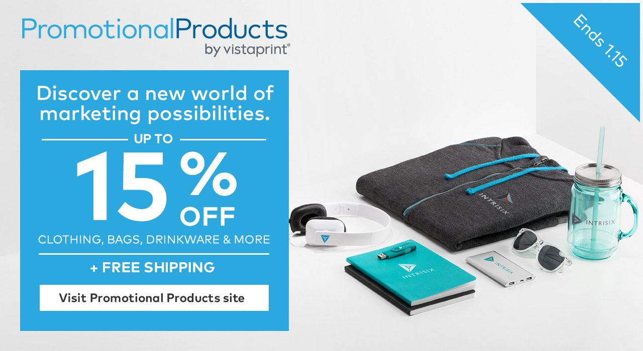 Vistaprint: Promotional Products | Free shipping, plus up to 15 ...