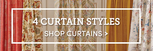4 Curtain Styles. Shop Curtains ›