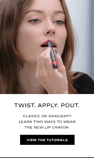 TWIST. APPLY. POUT. Classic or gradient? Learn two ways to wear the new lip crayon. View the Tutorials
