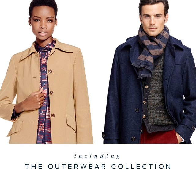 INCLUDING THE OUTERWEAR COLLECTION