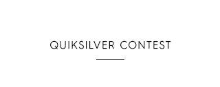 Quiksilver Contest