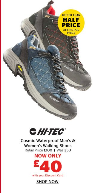 Hi-Tec Cosmic Waterproof Walking Shoes