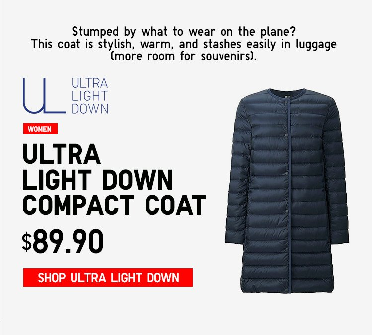 ULTRA LIGHT DOWN COMPACT COAT