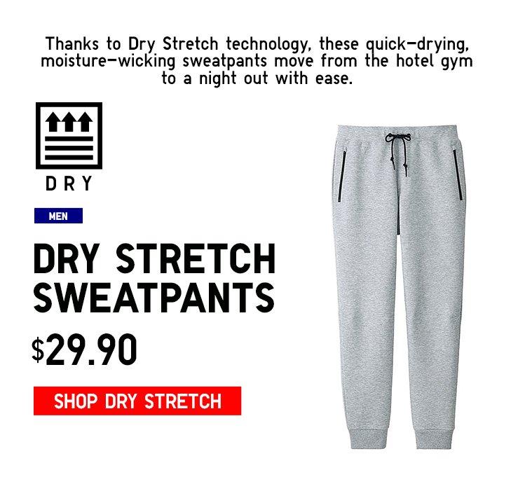 DRY STRETCH SWEATPANTS
