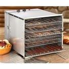Guide Gear Food Dehydrator, Stainless Steel, 10 Tray