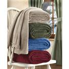 CastleCreek Plush Fleece Blanket
