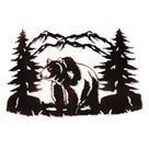 Bear Metal Wall Art
