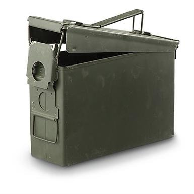 U.S. Military .30 Caliber Ammo Can, Used