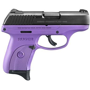"Ruger LC9s, Semi-Automatic, 9mm, 3.12"" Barrel, Purple Frame, 7+1 Rounds"