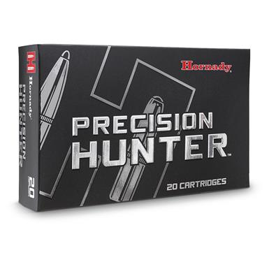 Hornady Precision Hunter, 6.5 Creedmoor, 143 Grain, ELD-X, 20 Rounds