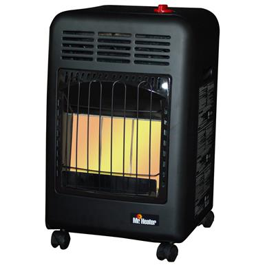 Mr. Heater Propane Cabinet Heater, Up to 18,000 BTU
