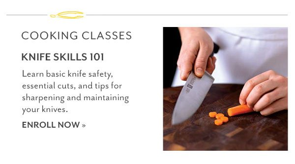 Cooking Classes: Knife Skills 101