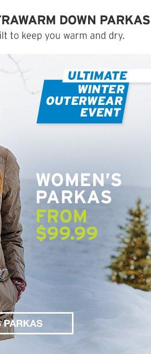 ULITMATE WINTER OUTERWEAR EVENT | WOMEN'S PARKAS