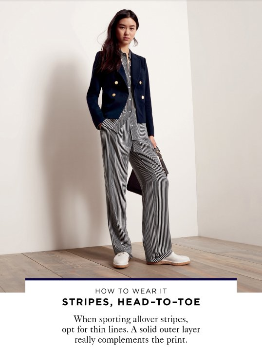 STRIPES, HEAD-TO-TOE