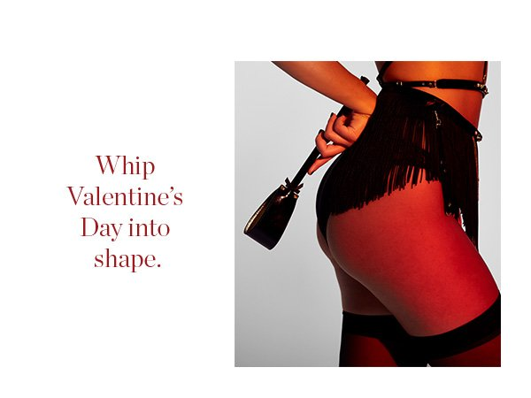 Whip Valentine's Day into Shape