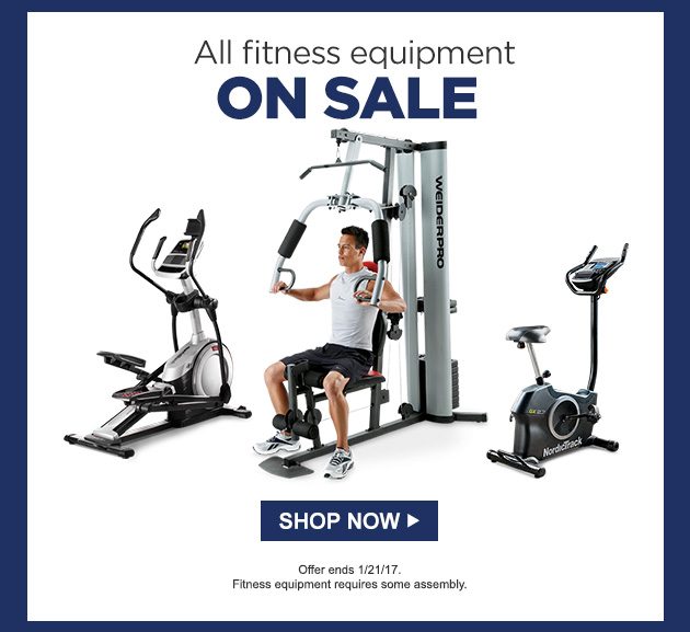 Fitness Equipment Services: Sears: Your Weekly Ad + FITNESS Savings!