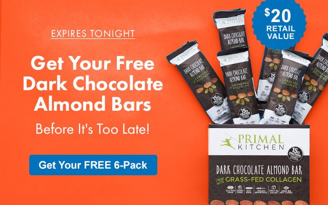 thrive market: ends tonight: 6 free dark chocolate bars | milled