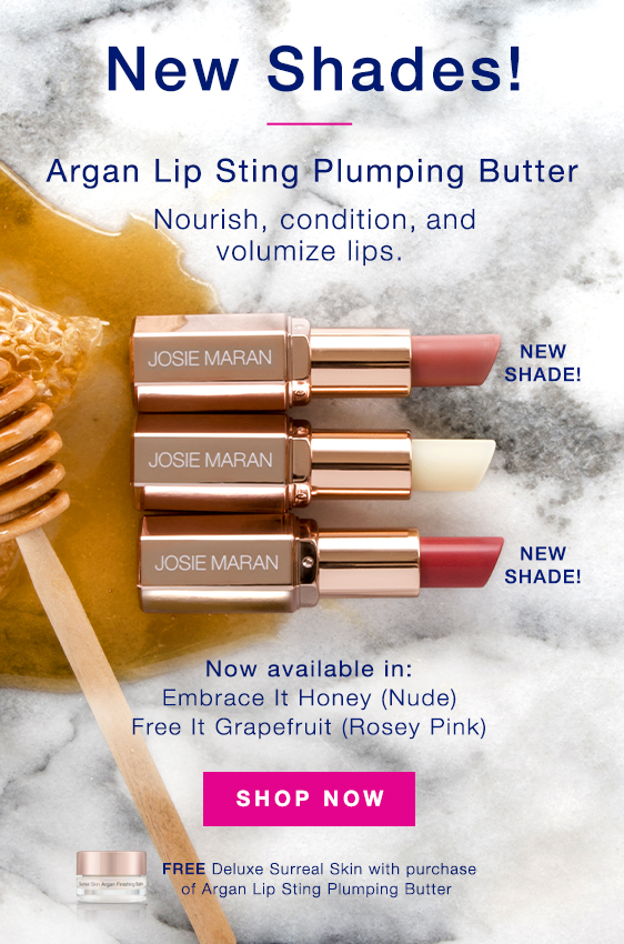 Josie Maran: Juicy, buttery, Plumped-Up Lips with a Smooth Wash of ...