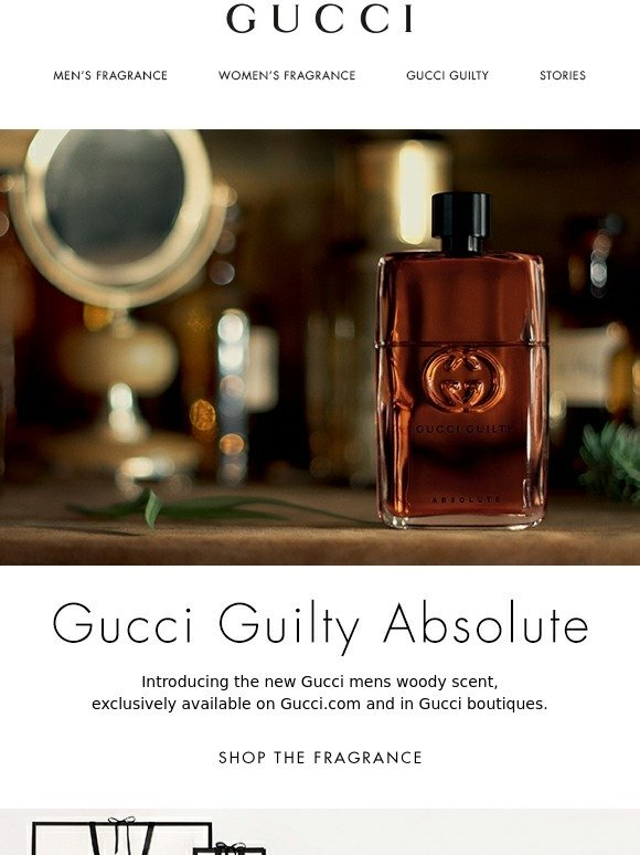 8974469f9 Gucci: Introducing Gucci Guilty Absolute | Milled