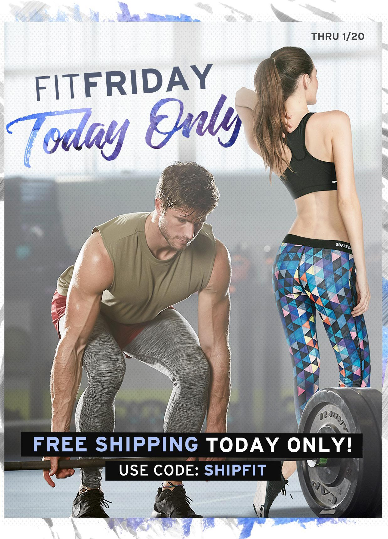 Free Shipping on any size order. TODAY ONLY! Use code SHIPFIT thru 1/20.