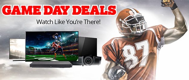 Game Day Deals - Watch and Save Like You Mean It!