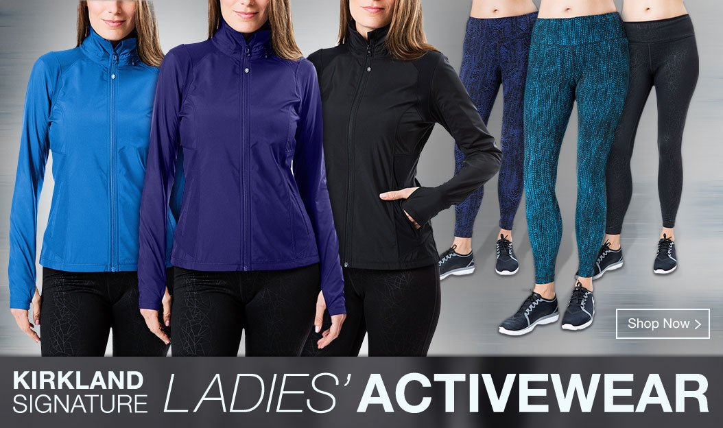 12b72ef21d4 Shop Kirkland Signature Ladies  Activewear