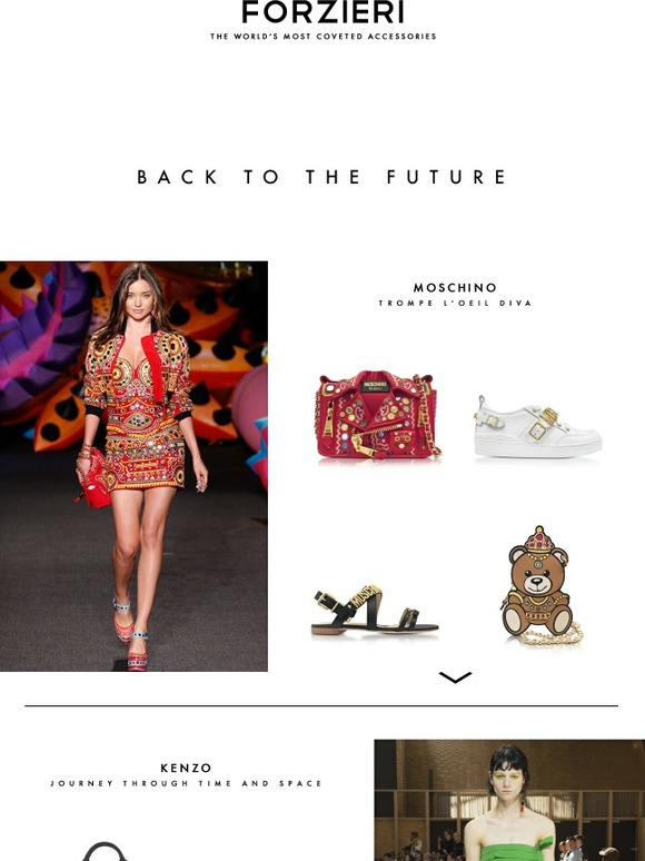 0a9c9baacd3 FORZIERI: The Future Looks Bright with the New Marc Jacobs, Kenzo and  Moschino | Milled