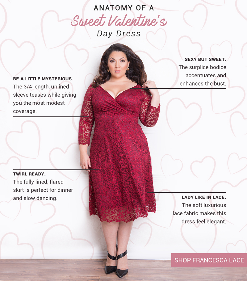 igigi.com: Anatomy of a Sweet Valentines Day Dress | Milled