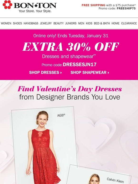 92999a28ca3 Bonton  Extra 30% off Dresses You ll ❤ (Online Only!)