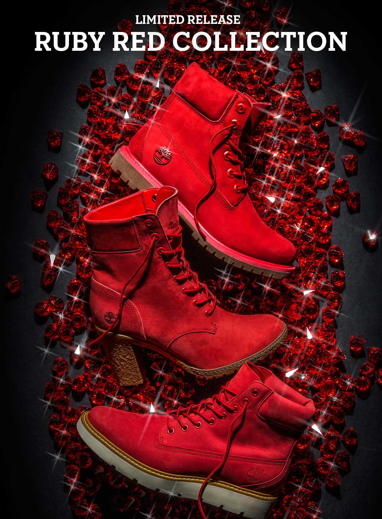 Timberland  Limited Release - Ruby Red Collection.  a8c48b2aa