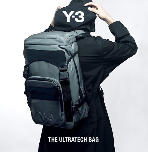 The Y-3 Ultratech Bag - function fused with a versatile design and bold  details 607172bc11f7f