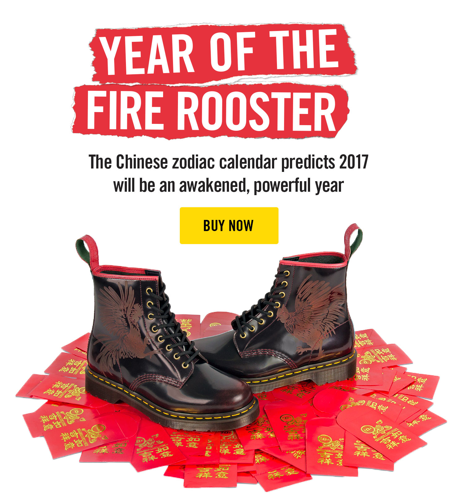 DR MARTENS 1460 CHINESE NEW YEAR