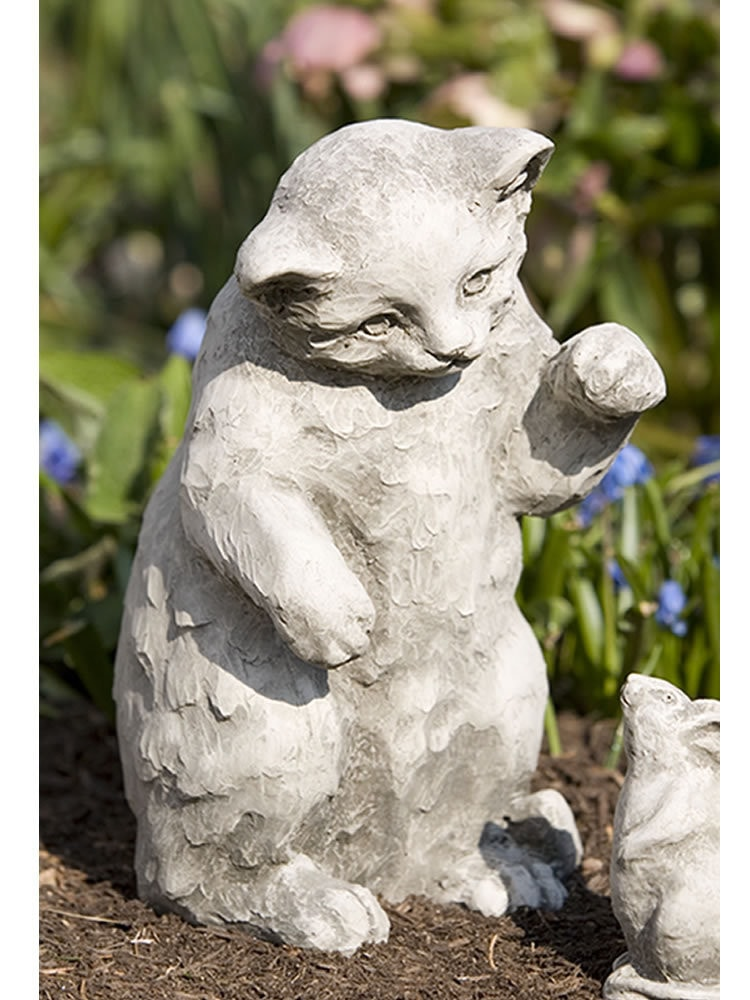Campania International Playful Kitten Statue