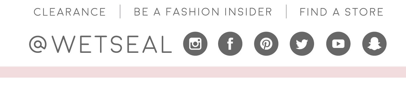 Wet seal fashion insider card 88