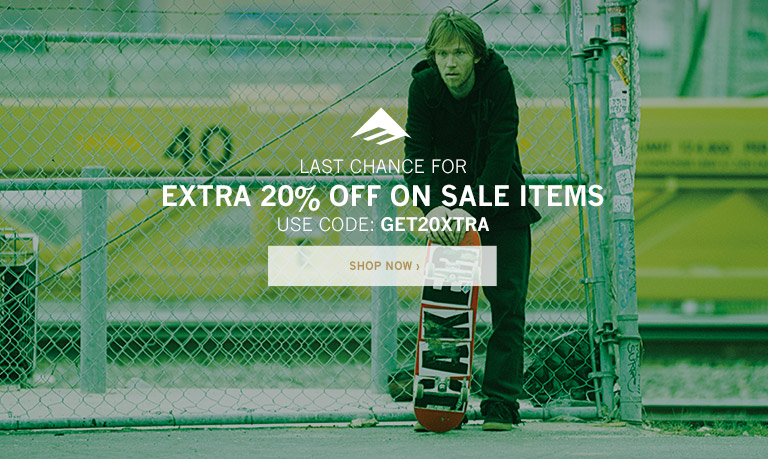 Last Chance for Extra 20% Off On Sale Items