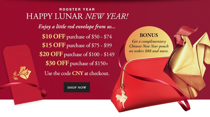 HAPPY LUNAR NEW YEAR - SHOP NOW