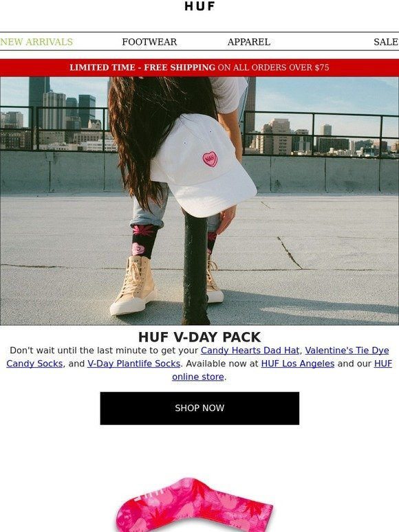 076294db8bf Huf  You Will Love These    HUF Valentine s Day Pack!